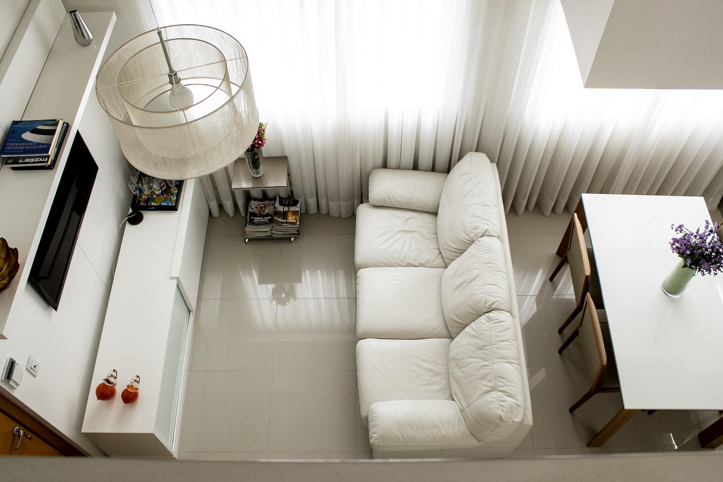 Salas de estar e jantar, reforma de sala em BH