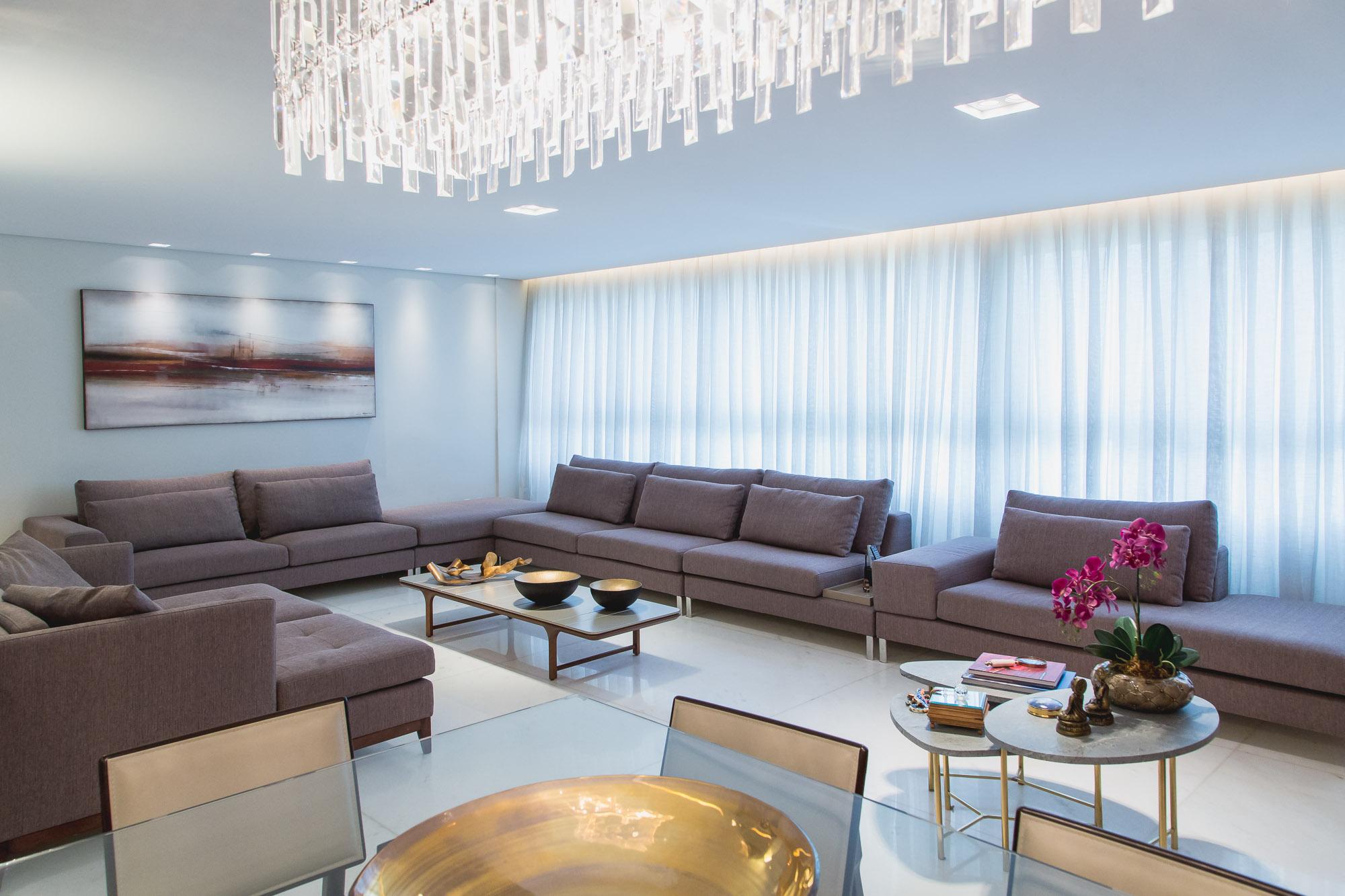 projeto das salas de estar e jantar